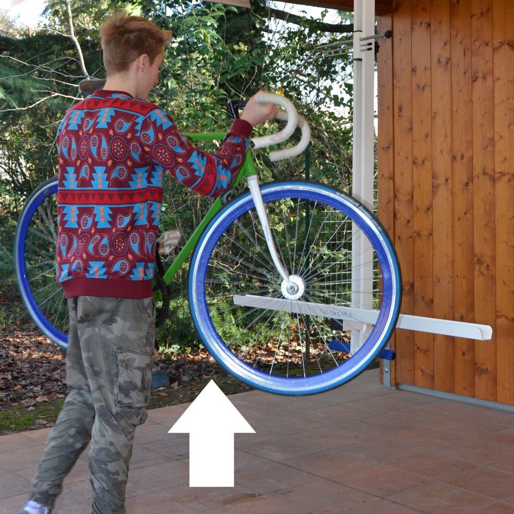 sollevamento-bici-garage